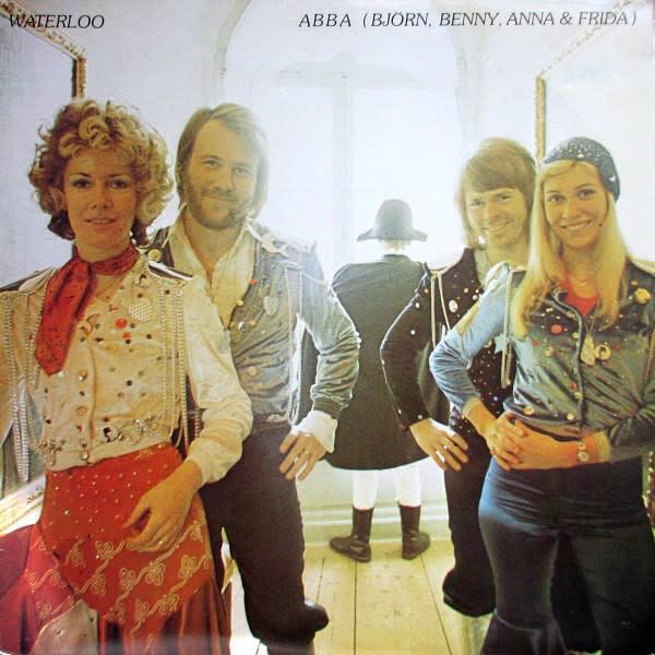 Rock/Pop Abba - Waterloo (VG+)