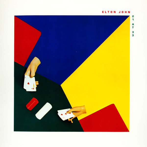 Rock/Pop Elton John - 21 At 33 (VG+) (Hole Punch Cover)