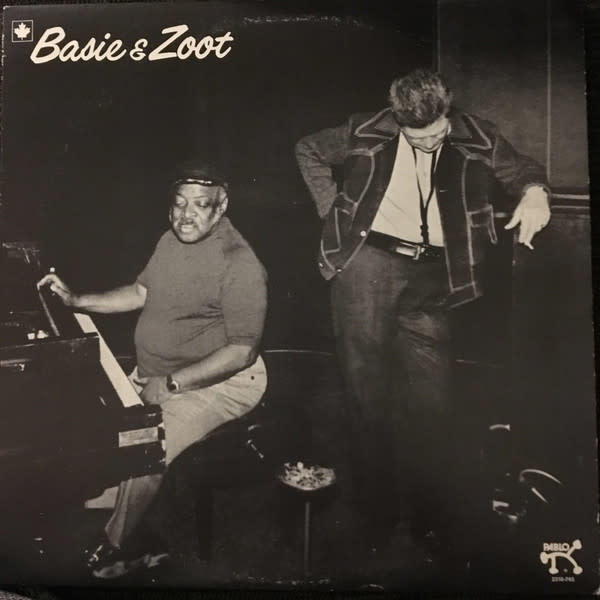 Jazz Count Basie & Zoot Sims - Basie & Zoot (VG+)