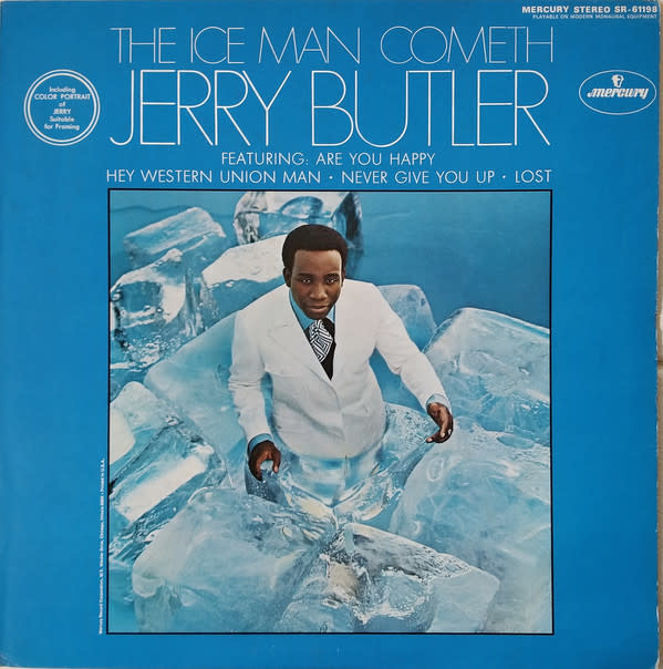 R&B/Soul/Funk Jerry Butler - The Ice Man Cometh (VG+)