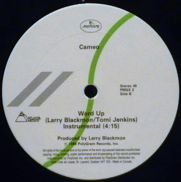 "R&B/Soul/Funk Cameo - Word Up (12"") (VG+)"