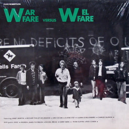 Experimental Clive Robertson - Warfare Versus Welfare (VG)