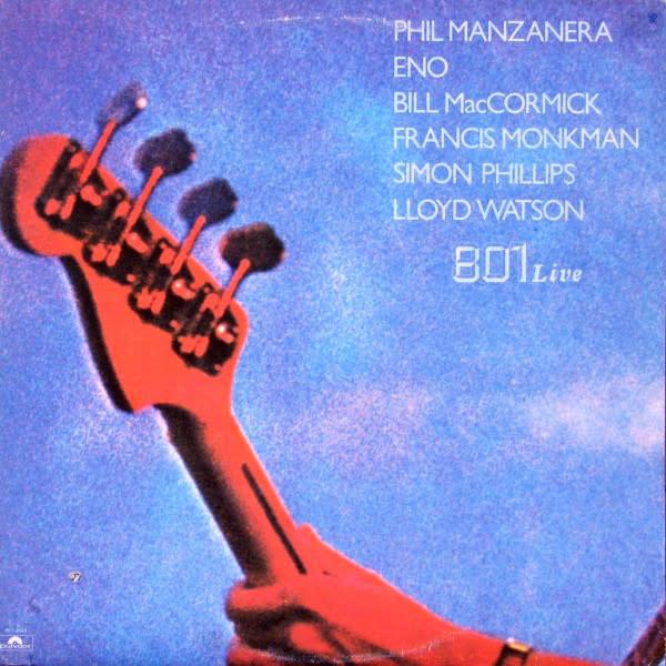 Rock/Pop 801 - 801 Live (Phil Manzanera, Eno) (VG)