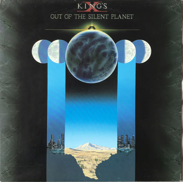 Rock/Pop King's X - Out Of The Silent Planet (1988 CA Press) (VG++)