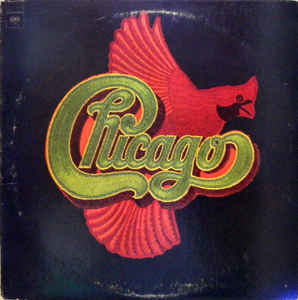 Rock/Pop Chicago - Chicago VIII (VG+; shelf/ringwear, creases)