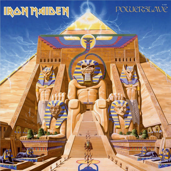 Metal Iron Maiden - Powerslave