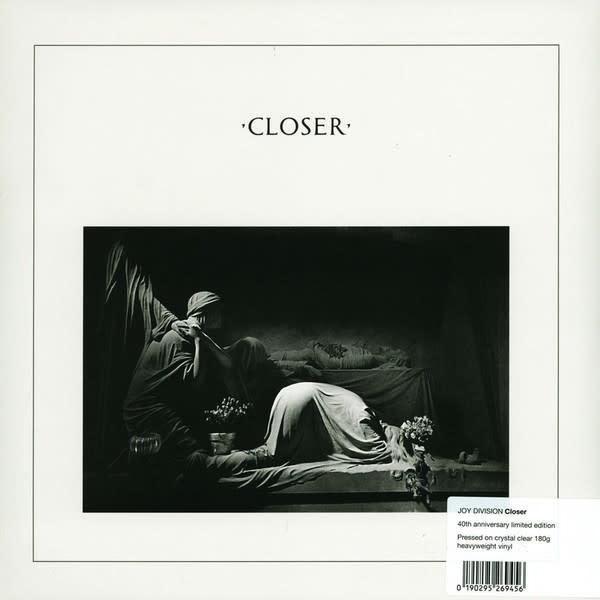 Rock/Pop Joy Division - Closer 40th Annv. (crystal clear vinyl)