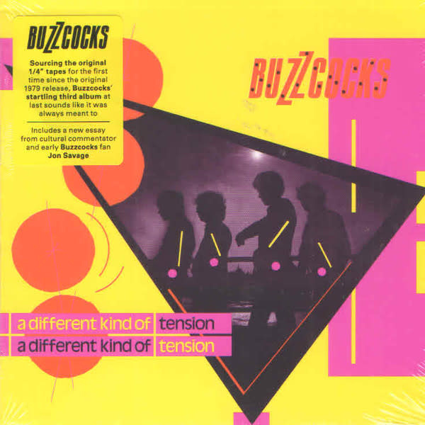 Rock/Pop Buzzcocks - A Different Kind of Tension