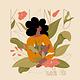 Rock/Pop Thanya Iyer - Kind (Orange + White Swirl)