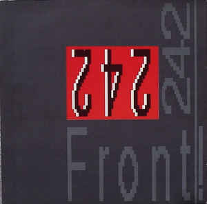 Rock/Pop Front 242 - Front By Front (VG+)