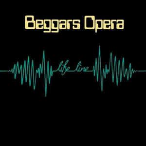 Rock/Pop Beggars Opera - Life Line (German Press) (VG)