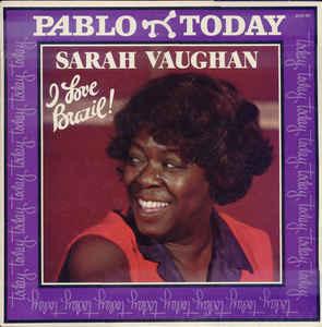 Jazz Sarah Vaughan - I Love Brazil! (VG+)