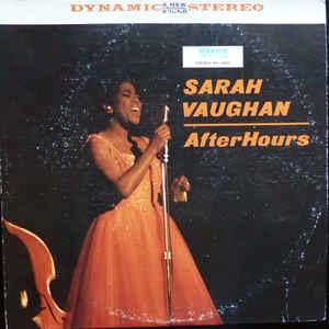 Jazz Sarah Vaughan - After Hours (VG+)
