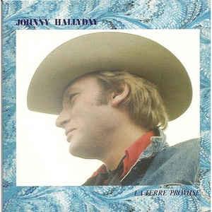 Rock/Pop Johnny Hallyday - La Terre Promise (France Pressing) (VG+)