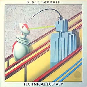 Metal Black Sabbath - Technical Ecstasy