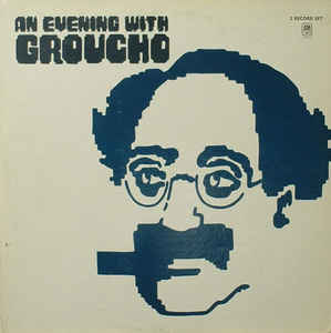 Comedy Groucho Marx - An Evening With Groucho (VG)