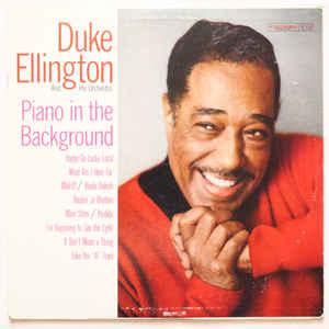 Jazz Duke Ellington - Piano In The Background (VG)