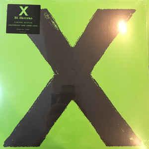 Rock/Pop Ed Sheeran - X (Tear on top of sleeve) (VG)