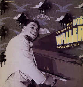 Jazz Fats Waller - The Complete Fats Waller Vol. II, 1935 (VG+)