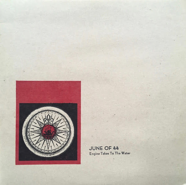Rock/Pop June of 44 - Engine Takes to the Water (Glacial Blue Vinyl)