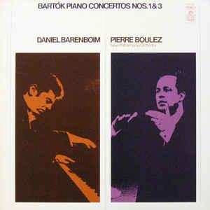 Classical Bartok - Piano Concertos Nos. 1 & 3 (Daniel Barenbom, New Philharmonic Orchestra, Pierre Boulez) (VG)