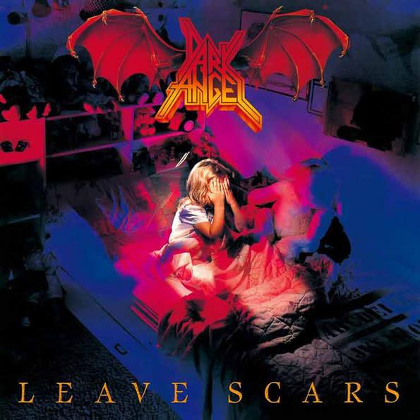 Metal Dark Angel - Leave Scars (Blue Vinyl)