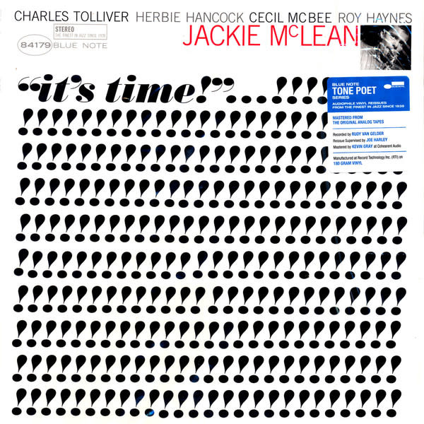 Jazz Jackie McLean - It's Time (Tone Poet)