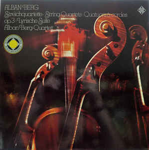 Classical Alban Berg/Alban Berg Quartett - Streichquartett Opus 3/Lyrische Suite (VG++)