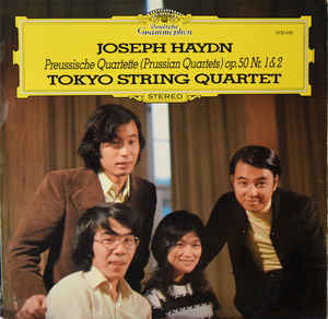 Classical Joseph Haydn - Preussische Quartette (Prussian Quartets) Op.50 Nr. 1 & 2 - Tokyo String Quartet (VG+)