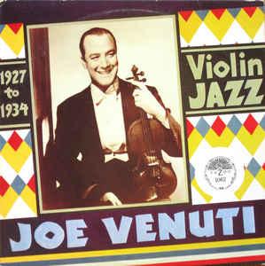 Jazz Joe Venuti - Violin Jazz (VG+)
