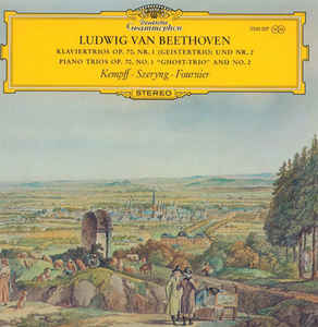 Classical Beethoven - Klaviertrios Op.70 Nr. 1/2 - Kempf, Szeryng, Fournier (VG+)