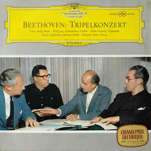 Classical Beethoven - Triple Concerto - Fricsay (VG+)