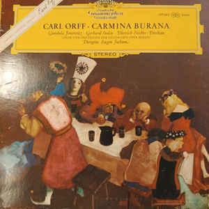 Classical Carl Orff - Carmina Burana - Gundula Janovitz, Gerhard Stolze, Dietrich Fischer-Dieskau, Eugen Jochum (VG+)