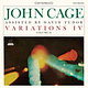 Experimental John Cage And David Tudor - Variations IV Volume II (Clear vinyl)