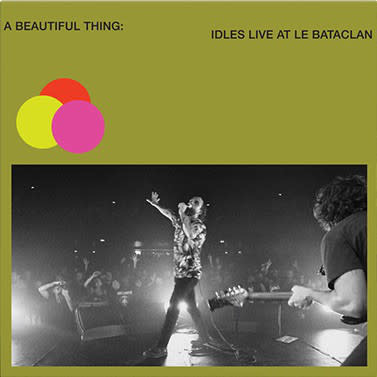 Rock/Pop Idles - A Beautiful Thing : Idles Live at Le Bataclan (Neon Clear Lime Vinyl)