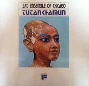 Jazz Art Ensemble Of Chicago - Tutankhamun (German pressing, cover wear, corner bent on top right of cover) (VG)