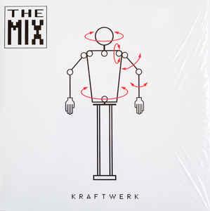 Krautrock Kraftwerk - The Mix (White Vinyl)