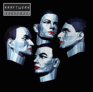 Krautrock Kraftwerk - Techno Pop (Silver vinyl)