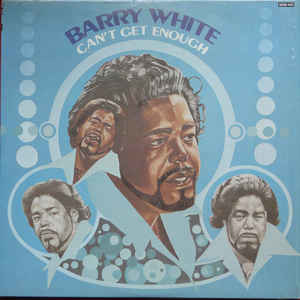 R&B/Soul/Funk Barry White - Can't Get Enough (VG)