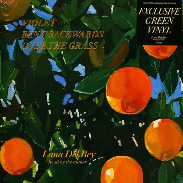 Rock/Pop Lana Del Rey - Violet Bent Backwards Over the Grass (Green Vinyl)