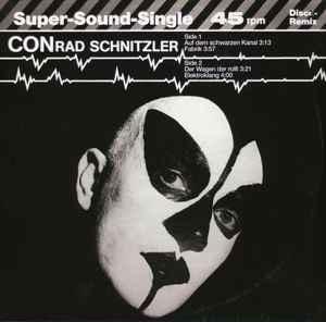 Krautrock Conrad Schnitzler - Auf  Dem Schwarzen Kanal (2020 Reissue) (VG++)