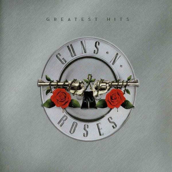 Rock/Pop Guns N' Roses - Greatest Hits (2LP Red Splatter Vinyl)