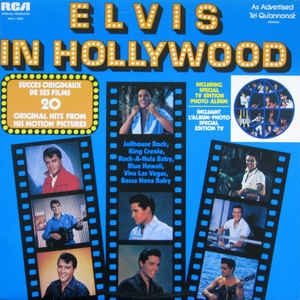 Rock/Pop Elvis Presley - Elvis In Hollywood (VG+)