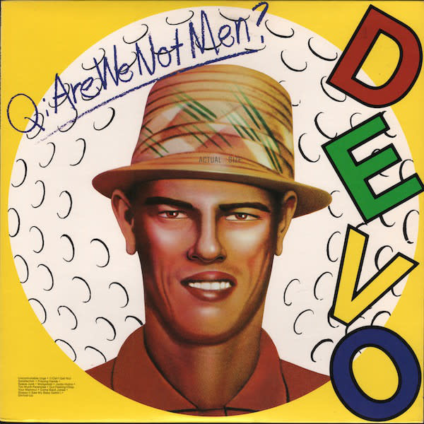 Rock/Pop Devo ‎- Q: Are We Not Men? A: We Are Devo! (Golfball-White Vinyl)