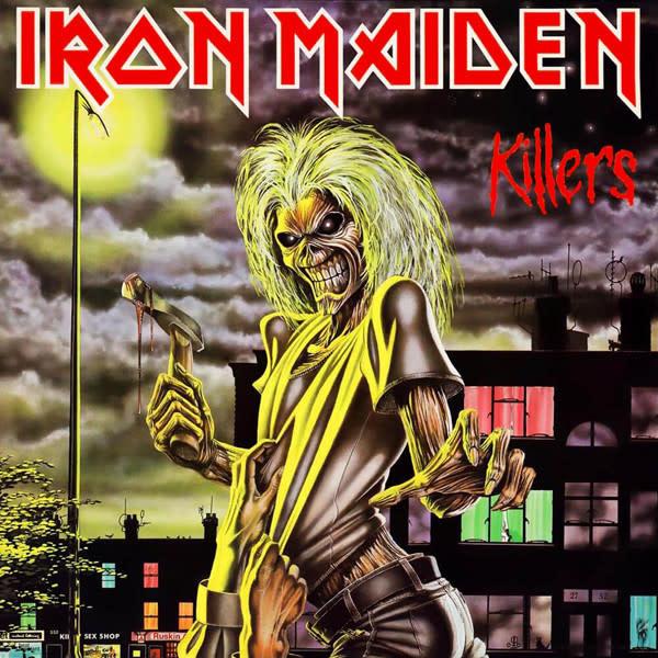 Metal Iron Maiden - Killers