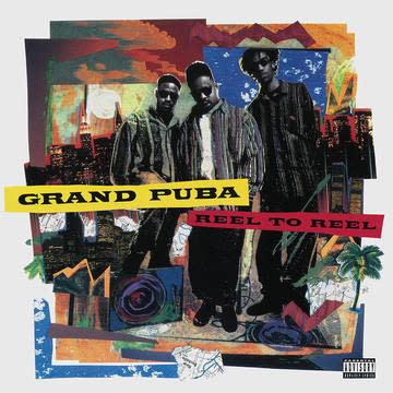 Hip Hop/Rap Grand Puba - Reel to Reel (2LP Tangerine Orange/Blue Jay Coloured Vinyl)