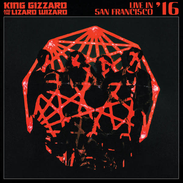 Rock/Pop King Gizzard and the Lizard Wizard - Live in San Francisco '16 (Deluxe Edition Bay Fog + Golden Gate Sunburst Colored Vinyl)