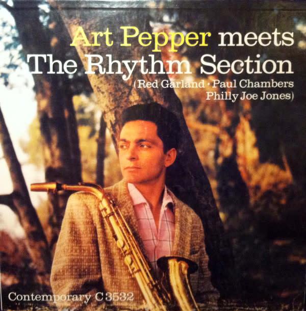 Jazz Art Pepper - Meets the Rhythm Section
