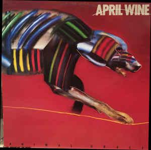 Rock/Pop April Wine - Animal Grace (VG+)