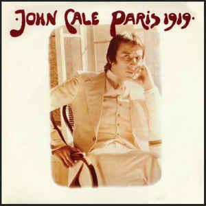 Rock/Pop John Cale - Paris 1919 (1973 UK press, light yellow spotting on back cover) (VG+)